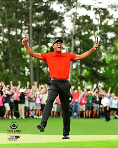 Tiger Woods 2019 Masters Tournament Photo (Size: 8