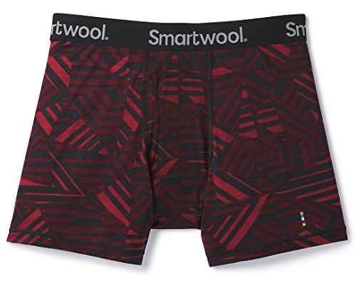 SmartWool Men's Merino 150 Printed Boxer Brief Fig ()