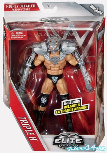 Toy Store - TRIPLE H - 2016 WWE Elite Series 42 Wrestling Action Figure by Mattel HHH - New Arrival