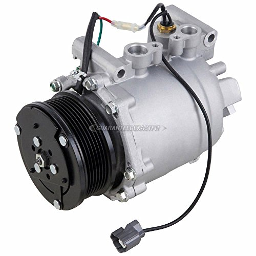 AC Compressor & A/C Clutch For Acura RSX & Honda Civic - BuyAutoParts 60-01616NA NEW (Acura Rsx Clutch)