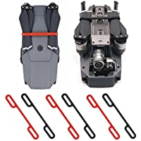 Rantow 3-Pack 4-Port Battery Charger/Landing Gear/Propellers/Propellers Guard/Remote Joystick Holder/Propeller Fixator/Storage Bag/Signal Booster/Neck Lanyard Bracket for DJI Mavic Pro
