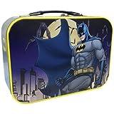"WL SS-WL-25552 Batman Protecting Gotham City Collectible Super Hero Tin Tote, 10"""