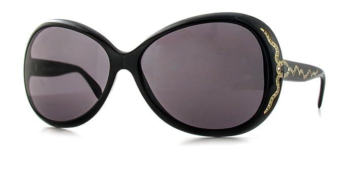 Amazon.com: assoluto 1383 Diseñador anteojos de sol, negro ...