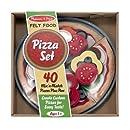 Melissa & Doug Felt Food - Pizza Set