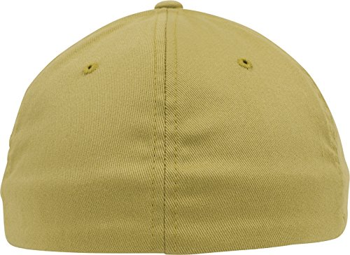 Flexfit Wooly Combed Caps amarillo curry