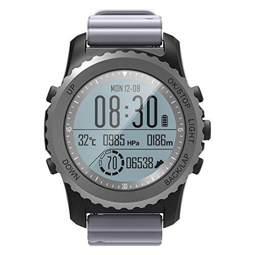 niceeshop TM Smart Watch IP68 Waterproof Smartwatch Chargeable Digital Smartwatch Multi-Function Sports Watch with Image Display Calorie Measuring GPS Watch