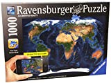 Satellite World Map Augmented Reality Jigsaw Puzzle, 1000-Piece