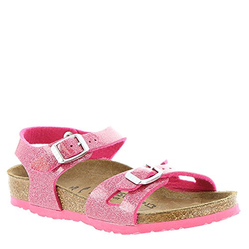 Birkenstock Kids Baby Girl's Rio (Toddler/Little Kid/Big Kid) Magic Galaxy Rose Birko-Flor Sandal