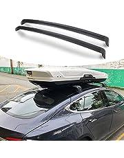 Roof Rack Crossbars for Tesla Model 3 Accessories,Aluminum Roof Rack Cross Bars, Cargo Ski Kayak Luggage Bike carrier Rooftop Crossbar Luggage Holder