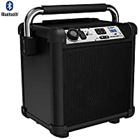 Ion Audio (IPA74) Job Rocker Plus Portable Heavy-Duty Jobsite Speaker System - (Certified Refurbished) (Black)