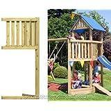 Piratenschiffbug für Basis Spieltürme, Holz Bausatz 86x113x231cm - Kinderspielgeräte für Garten, Spielgeräte für Kinder, Spielturm, Spieltürme