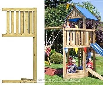 Piratenschiffbug Für Basis Spieltürme Holz Bausatz 86x113x231cm