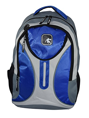AND1 Fashionable Big Classic Series Backpack - School Bag (Blue)