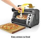 Hamilton Beach 31123D Easy Reach Toaster Oven, Silver