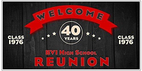 School Class Reunion Party Banner Decoration Backdrop