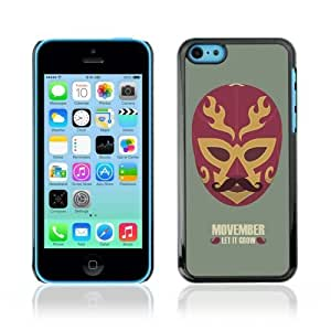MMZ DIY PHONE CASEYOYOSHOP [Cool Movember Mexican Mask] Apple iphone 4/4s Case