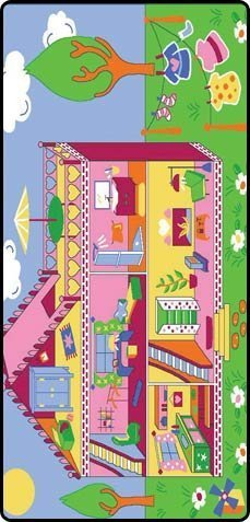 Learning Carpets Learning Carpets Our Dream House Play Carpet by Learning Carpets Dream House Play Carpet