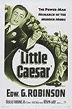 Little Caesar Poster B 27x40 Edward G. Robinson Glenda Farrell Sidney Blackmer