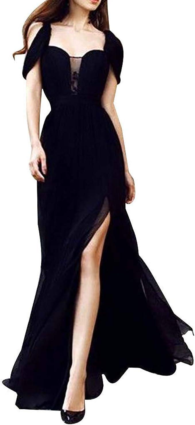 Spitze lang chiffon weißes abendkleid mit Abendkleid Lang