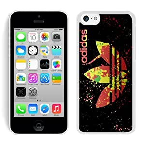 Fashionable And Beautiful Designed Case For iPhone 5C With Adidas 13 White Phone Case