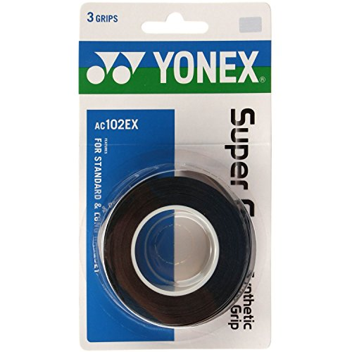 Yonex Super Grap Black 3 Pack