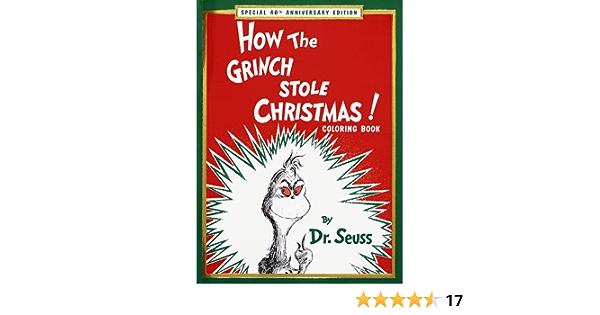 How Grinch Stole Xma Seuss Dr 9780679887935 Amazon Com Books