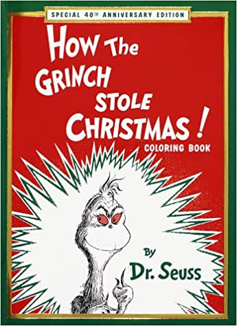 HOW GRINCH STOLE XMA: Dr. Seuss: 9780679887935: Amazon.com: Books