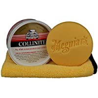 Collinite Double Coat Auto Wachs 476s im Set inkl.Meguiar`s Pad & Microfasertuch