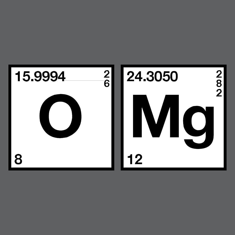 Amazon oxygen magnesium omg periodic table science amazon oxygen magnesium omg periodic table science chemistry funny t shirt clothing gamestrikefo Images