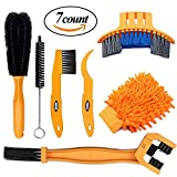 SINGARE 7pcs Bicycle Cleaning Tools Set, Bicycle Clean Brush Kit Suitable for Mountain, Road, City, Hybrid, BMX and Folding Bike