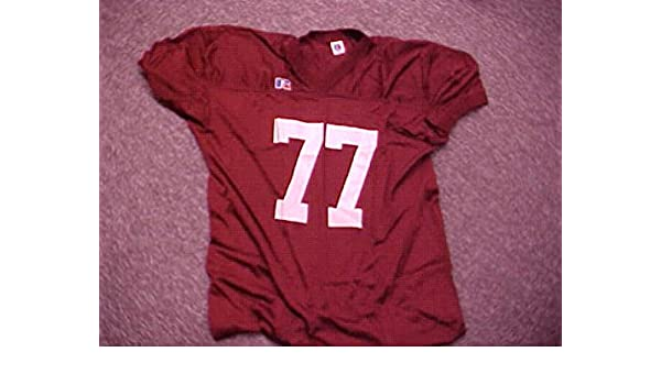 competitive price 7fd7b 414a9 Crimson Game Jersey #77 University of Alabama at Amazon's ...