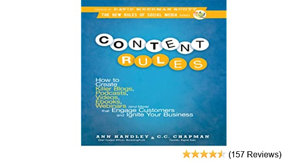 Amazon Content Rules How To Create Killer Blogs Podcasts