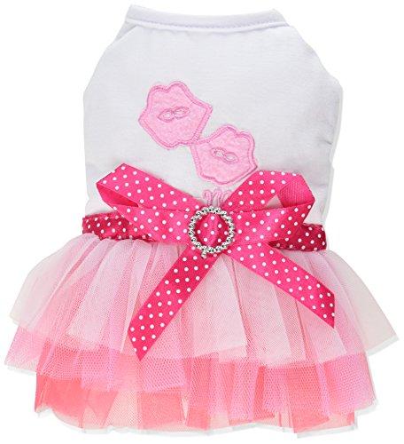 SMALLLEE LUCKY STORE Heart Princess Dress X Small