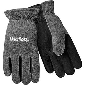 Steiner 02288 Winter Work Gloves, Polar Fleece Back Split Cowhide Palm Fleece Lined, Extra Large (12-Pack)