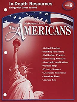 amazon com mcdougal littell the americans in depth resources unit rh amazon com McDougal Gym McDougal Animated