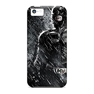 Excellent Iphone 5c Case Tpu Cover Back Skin Protector Batman In The Dark Knight Rises