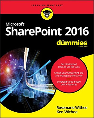 Sharepoint 2016 For Dummies  Learning Made Easy