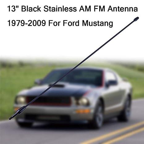 "8/"" Black Stainless AM FM Antenna Mast FITS 2002-2007 Jeep Liberty"