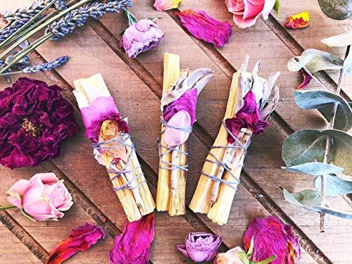 (Palo Santo Goddess Floral Incense Bundle)