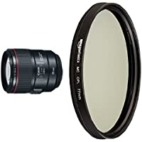 Canon EF 85mm f/1.4L with Circular Polarizer Lens