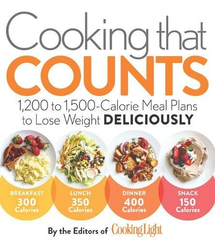 Cooking that Counts: 1,200 to 1,500-Calorie Meal Plans to Lose Weight Deliciously by Editors of Cooking Light