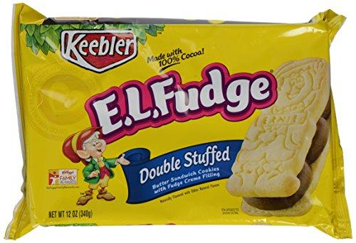Double Fudge Cookies (Keebler E.l. Fudge Sandwhich Double Stuffed, 12 oz)