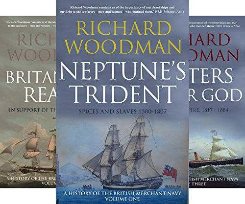 A History of the British Merchant Navy (5 Book Series)