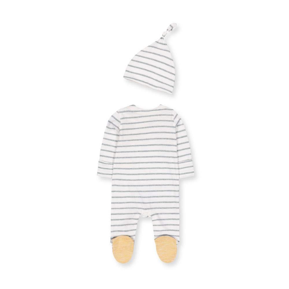 Mothercare NB Ad Stripe Aio And Hat Cappellopello Unisex-Bimbi