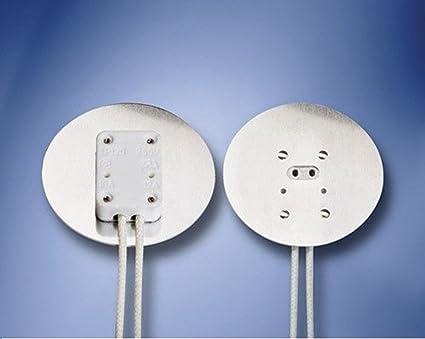 aluminum faced miniature bi pin socket 2 diameter heat shield aluminum faced miniature bi pin socket 2 quot diameter heat shield for mr16 two