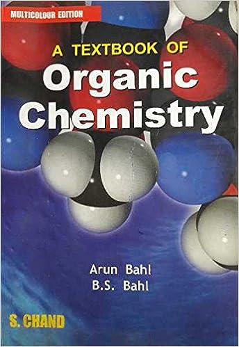 arun bahl organic chemistry book