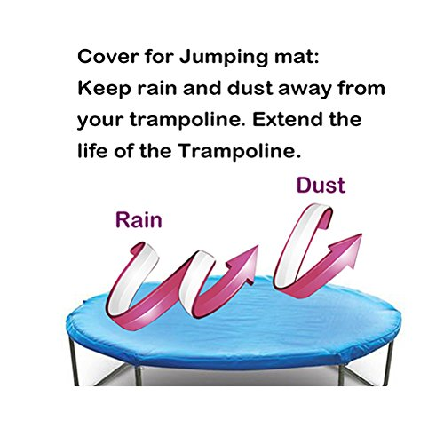 Zupapa Round 14ft Trampoline Frame Safety Enclosure Spring: Zupapa 15 14 12 Ft TUV Approved Trampoline With Enclosure