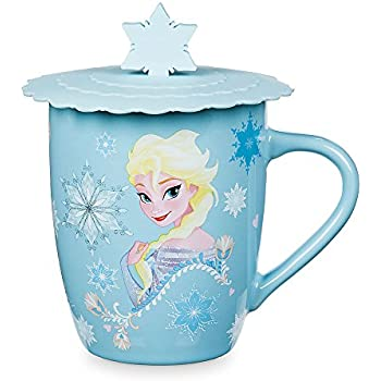 Amazon Com Disney Frozen Elsa Amp Anna Glitter Cup Coffee