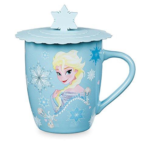 Disney Frozen Anna and Elsa Mug with Lid ()