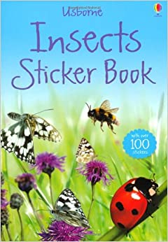 Book Insects Sticker Book